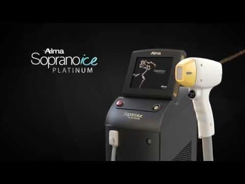 Alma Soprano ICE platinum - The Best Laser Hair Removal Platform