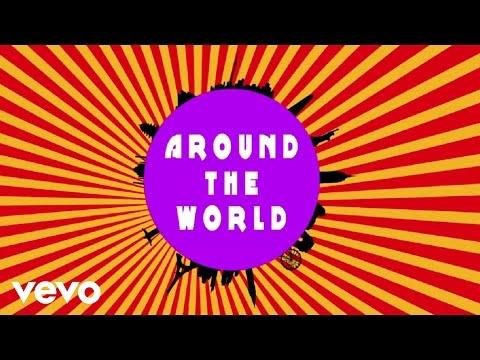 Natalie La Rose Ft. Fetty Wap - Around The World (Lyric Video)