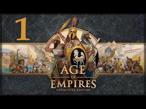 Прохождение Age of Empires: Definitive Edition #1 - Обучающая кампания \