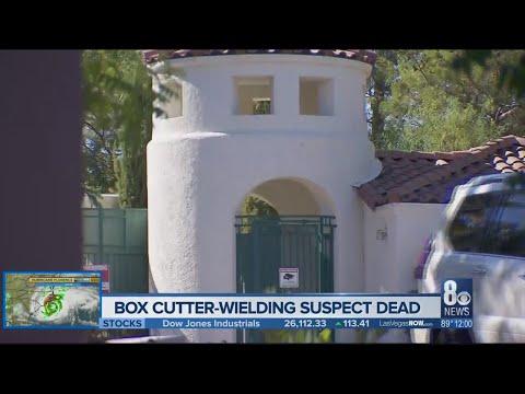 Henderson Police shoot, kill box cutter-wielding suspect