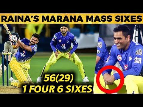 Chinna Thala's வெறித்தனமான Innings Video   Suresh Raina   CSK   IPL 2019