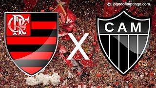 Jogo Flamengo x Atletico MG - Brasileirão 2016