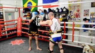 What's it like to train at Hanuman Thai Boxing? With Matt Thompson