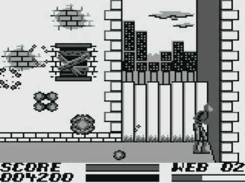 the amazing spider man game boy review