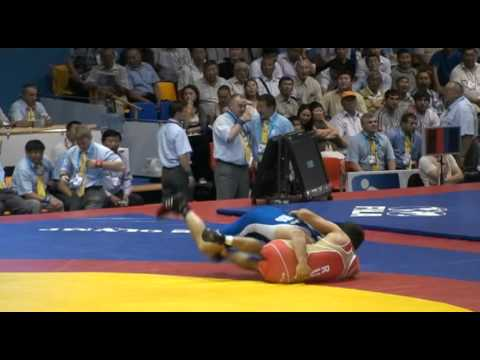 Russian Wrestling Highlights In Slo Flo 2011