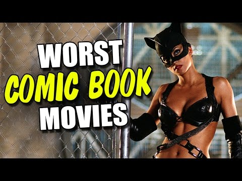 book - The Flick Pick - Top 10 Worst Comic Book Movies of All Time! ▷ Facebook - http://www.facebook.com/JohnFlickster ▷ Twitter - https://twitter.com/JohnFlickster ▷ 2nd Channel - http://www.you...