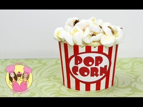 crafty - POPCORN CUPCAKES! Easy how to tutorial by Charli's crafty kitchen You will need: Free Printable from our Facebook page in the
