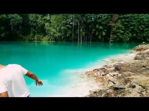 Lagoa verde em Telêmaco Borba