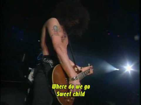 guns n'roses - sweet child o' mine - live in tokyo 92