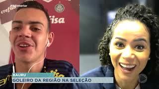 Goleiro convocado para seleção brasileira sub-15 é da região