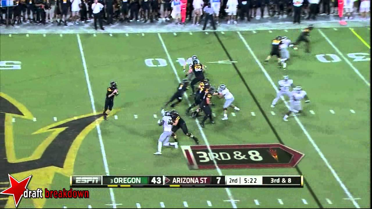 Taylor Hart vs Arizona State (2012)