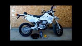 2. How To Do An Oil Change On A DRZ400 SM.