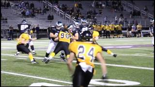 Brad Cowan DE / LB Class 2016 - HESN 2K15 Football highlights