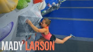Climbing With Mady Larson - New Generation T.T by Eric Karlsson Bouldering