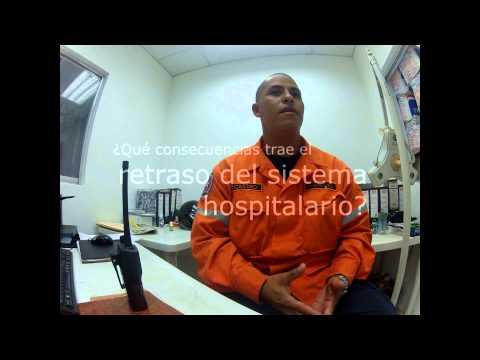 Técnico en emergencias médicas prehospitalarias Jaime Castro