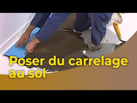 comment demarrer une piece en carrelage