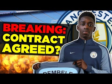 Video: BREAKING: Ousmane Dembele Agrees To Join Manchester City Over Barcelona?! | Transfer Talk