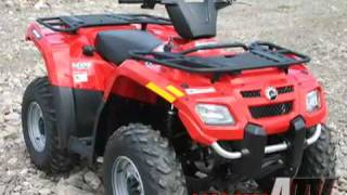 10. ATV Television Test - 2008 Can Am Outlander 400