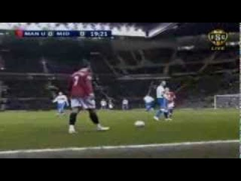 Cristiano Ronaldo Vs Middlesbrough Home (English Commentary) 06 07 By CrixRonnie