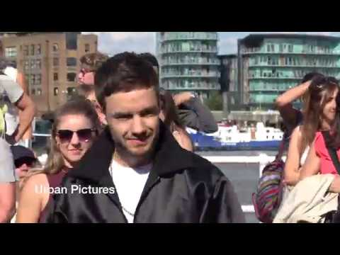 One Direction's Liam Payne films new music video in London