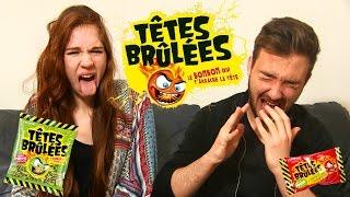 Video TÊTES BRULÉES CHALLENGE en Couple ! Défi Bonbons HYPERACIDE ! MP3, 3GP, MP4, WEBM, AVI, FLV Oktober 2017