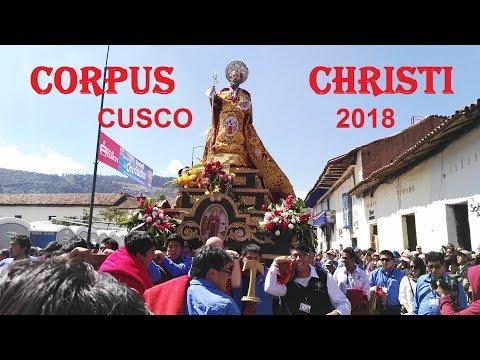 Corpus Christi 2018 TRADICIONES CUSQUEÑAS CUSCO   PERU