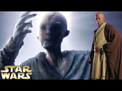 Why Snoke Is NOT Mace Windu