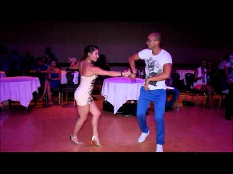 Isaia Leoni and Susi Brenk - New York Int'l Salsa Congress 2012 (Social Dancing, Sat - 9/1/12)