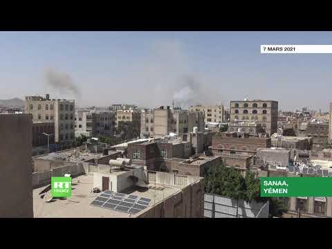 La coalition dirigée par Riyad mène des frappes sur la capitale du Yémen
