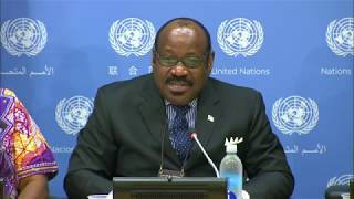 Comments to the media by the Permanent Representative of Equatorial Guinea, H.E. Mr. Anatolio Ndong Mba.