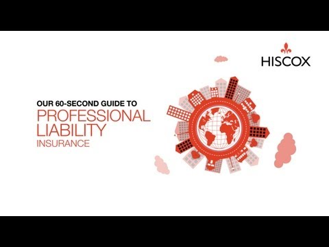 What is Professional Liability Insurance? A 60-Second Guide