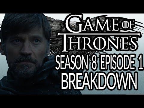 GAME OF THRONES Season 8 Episode 1 Breakdown & Details You Missed!