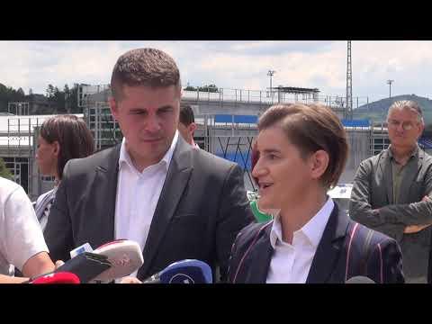 ПРЕДСЕДНИЦА ВЛАДЕ РЕПУБЛИKЕ СРБИЈЕ АНА БРНАБИЋ У ПОСЕТИ ЛУЧАНИМА