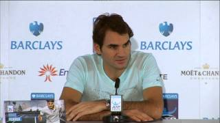 Tennis Highlights, Video - Roger Federer 'Angry' During His Match Against Del Potro in London