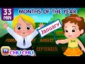 January, February, March and More Nursery Rhymes for Kids by ChuChu TV