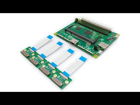 Raspberry Pi Compute Module Showcase