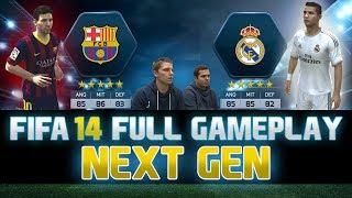 Video Fifa 14   FULL Next Gen Gameplay   Barcelona vs. Real Madrid - El Clasico   by PatrickHDxGaming MP3, 3GP, MP4, WEBM, AVI, FLV Desember 2017