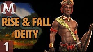 Video Civ 6: Rise and Fall - Let's Play Deity Shaka / Zulu - Part 1 MP3, 3GP, MP4, WEBM, AVI, FLV Maret 2018