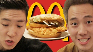 Americans Try Korean McDonald