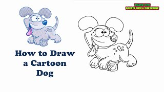 Thank you for watching. Please Subscribe..Easiest Drawings Ever.. Learn to draw a cartoon dog.How to draw for Kids and Adults.. Simple Drawings.Audio CopyrightsBrandenburg Concerto No4-1 BWV1049 - Classical Whimsical by Kevin MacLeod is licensed under a Creative Commons Attribution license (https://creativecommons.org/licenses/by/4.0/)Source: http://incompetech.com/music/royalty-free/index.html?isrc=USUAN1100303Artist: http://incompetech.com/
