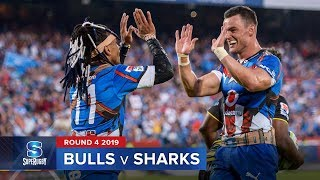 Bulls v Sharks Rd.4 2019 Super rugby video highlights | Super Rugby Video Highlights