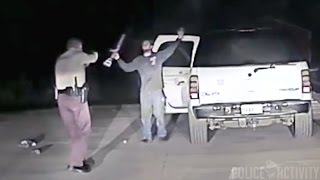 Police Dashcam Shows Take Down Of Suicidal Man Armed With Rifle full download video download mp3 download music download