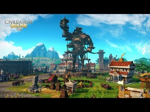 Civilization Online is a unique new MMO in which players work together to build a civilization from the stone age to the space age. Create your custom avatar and then choose which role you will play in the expansion of your empire. Research and develop ne