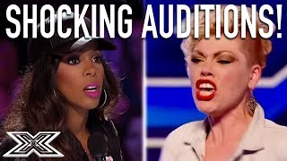 Video TOP Shocking Auditions From X Factor Global! MP3, 3GP, MP4, WEBM, AVI, FLV Juni 2019