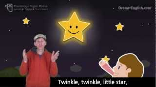 Twinkle Twinkle Little Star with Actions