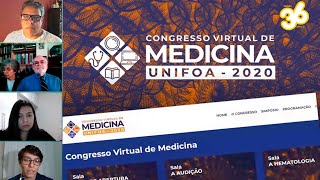 UNIFOA Realiza o 1º Congresso de Medicina totalmente virtual