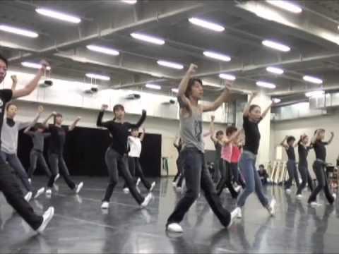 東京バレエ団「ダンス・イン・ザ・ミラー 」リハーサル
