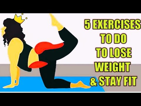 5 EXERCISE TO LOSE WEIGHT FAST  HOW TO LOSE WEIGHT FAST  21 DAYS CHALLENGE
