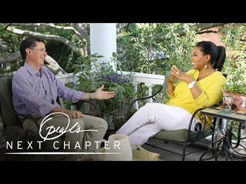 The Turning Point in Stephen Colbert's Career - Oprah's Next Chapter - Oprah Winfrey Network