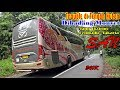 Naik Bus DIHADANG MONYET, TROUBLE di TENGAH HUTAN, Lewat Jembatan Kayu  Trip SAN Bengkulu - Jakarta